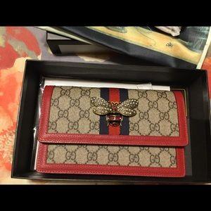 Authentic Gucci Queen Margaret GG Mini Bag